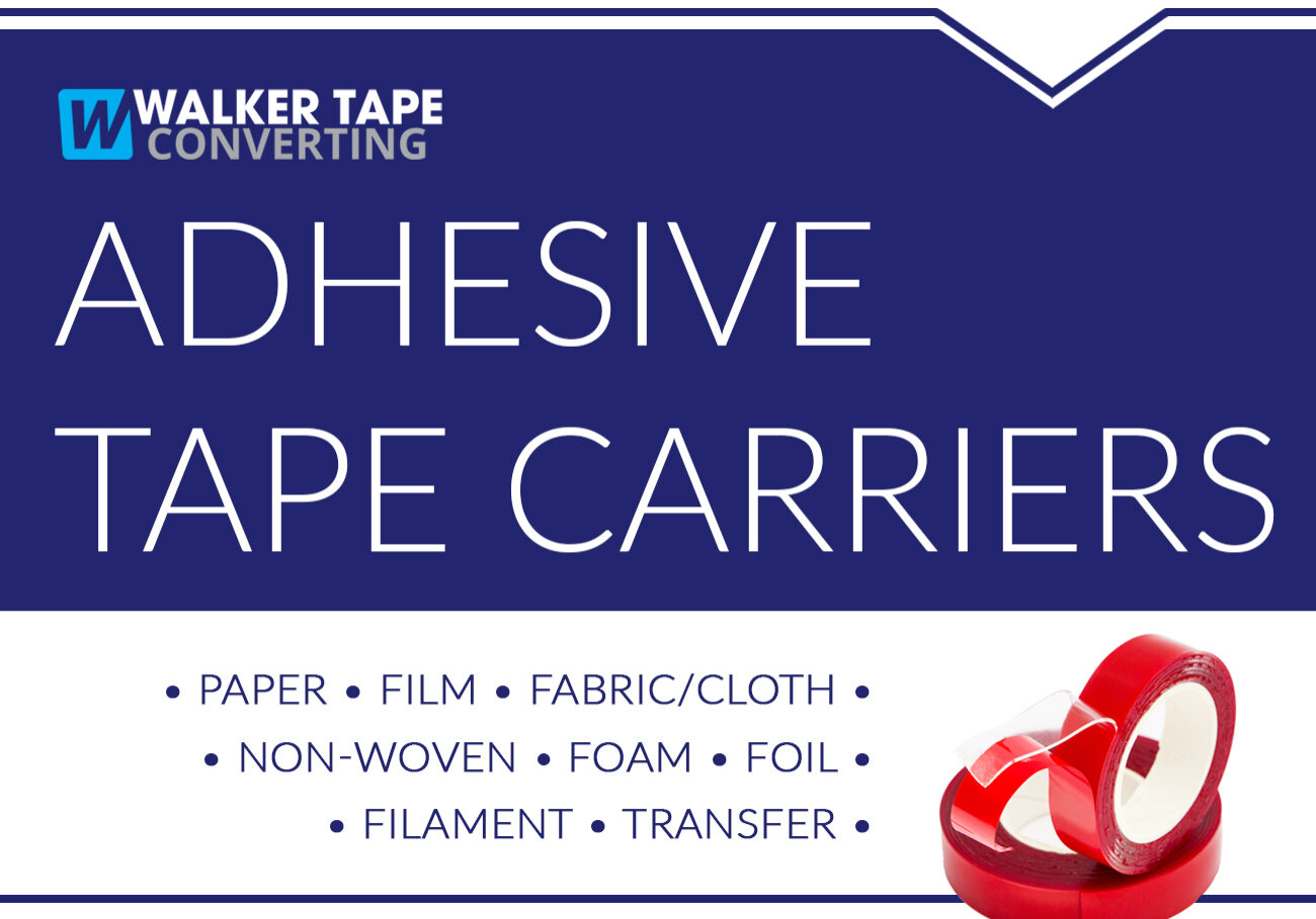Adhesive Tape Carriers