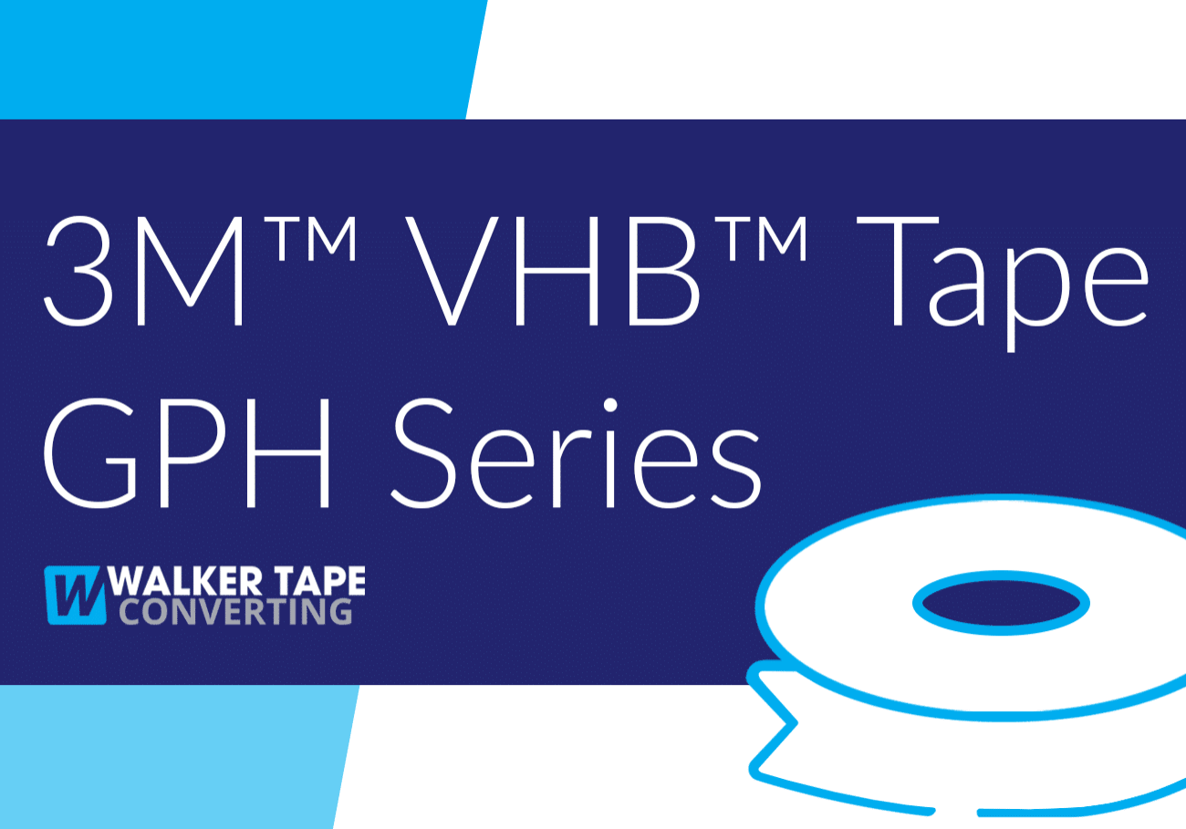 Converting VHB Tape GPH Series