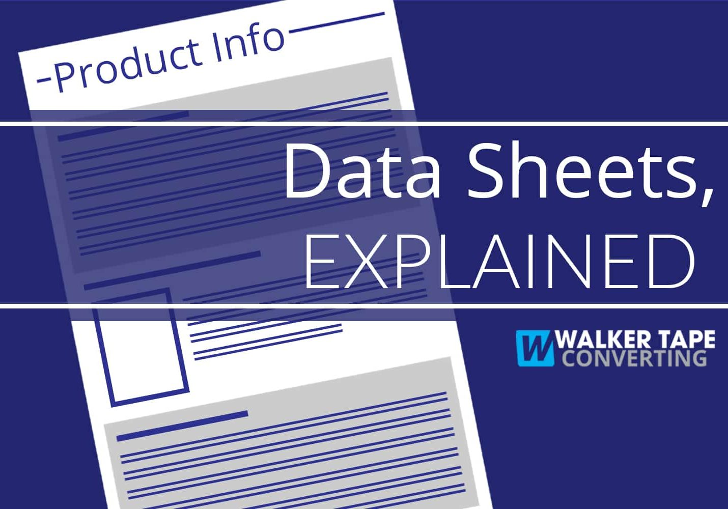 Data Sheets Explained